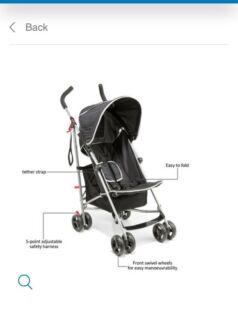 Kmart Layback Umbrella stroller
