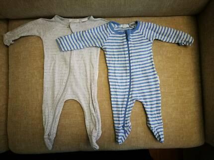 Pure baby onesies x 2