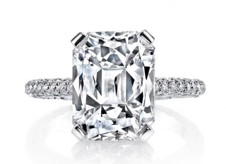 Get Diamonds For Radiant Diamond Engagement Rings
