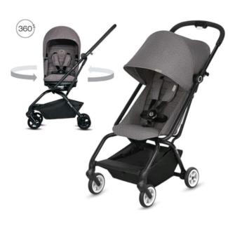 Brand New - Cybex Eezy S Twist Baby Stroller in Manhattan Grey