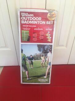Wilson outdoor badminton set new in box