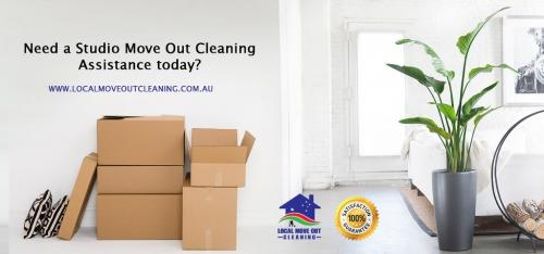 Need a Studio Move Out Cleaning Assistance today