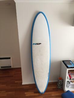NSP Beginner surfboard 7 2