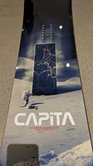 *USED* MENS CAPITA MERCURY 155CM SNOWBOARD