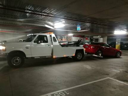 Towing - underground car park / height restricted
