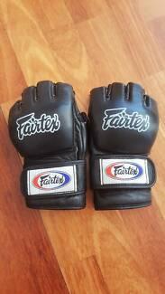 Fairtex MMA leather gloves size M