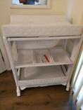 Portable baby change table and bath