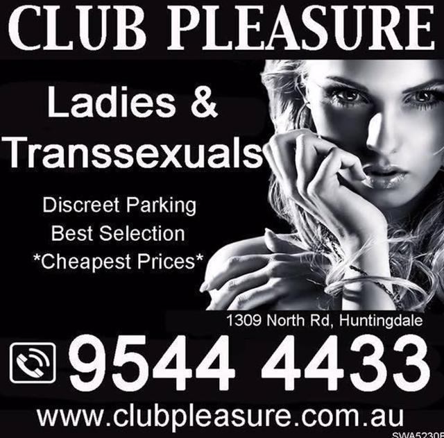 Transsexual Brothel Melbourne Club Pleasure