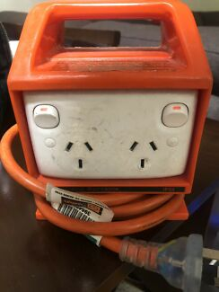 Portable RCD outlet $40