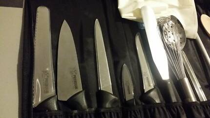Chef knife equipment 21 Piece Chef kit