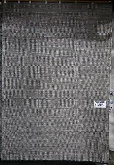 New Chennai Natural Wool Cotton Blend Flatweave MOS Rugs