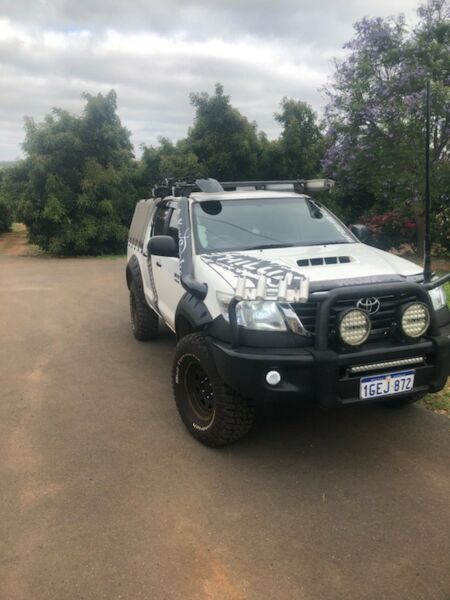 Hilux decal sets