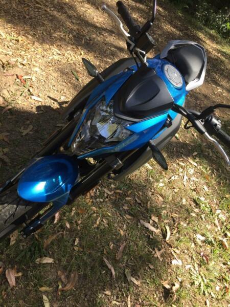 MOTORCYCLE 150cc CFMOTO