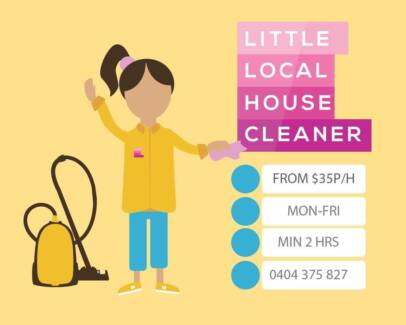 Are you looking for a cleaner? I can help you!