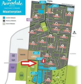 Land for sale in Mickleham Annadale estate -great value for money