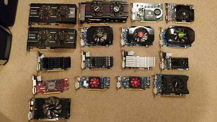 Range of graphics cards