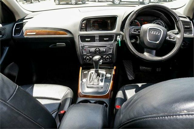 2009 Audi Q5 8R TDI S tronic quattro White 7 Speed Sports Automatic Dual Clutch Wagon