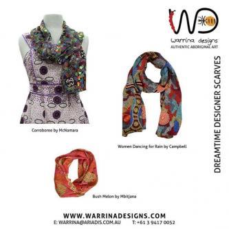 Shop Our Australian Made Aboriginal Designer Scarves