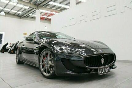 2013 Maserati Granturismo MY13 Sport MC Nero Carbonio 6 Speed Sequential Manual Coupe