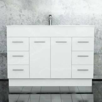 Classic - 1200mm bathroom vanity on legs or kickboard