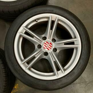 Porsche Cayman/ boxster wheels and tyres genuine