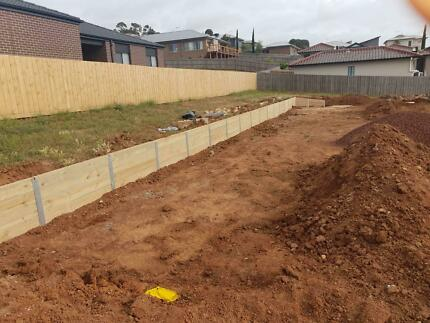 Retaining walls and excavations