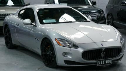 2008 Maserati Granturismo Silver 6 Speed Sequential Manual Coupe