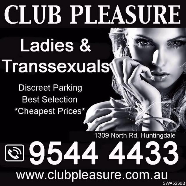 Club Pleasure Melbourne.