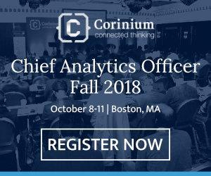Oct 8th – Oct 11th – Chief Analytics Officer, Fall, Boston, October 8-11, 2018