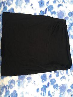 Black Maternity Skirt - size 12