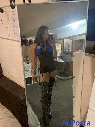 19YO AUSSIE Mercedes - Ex Dancer - Slim Size 8 - Long Dark hair - Melbourne Escort